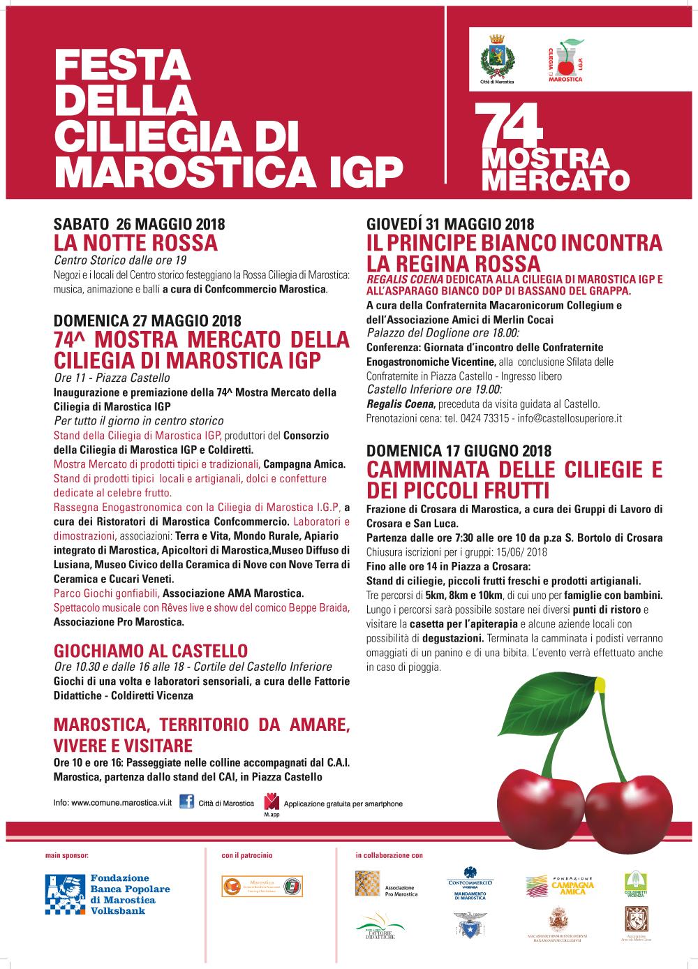 74 Mostra mercato della Ciliegia di Marostica I.G.P.